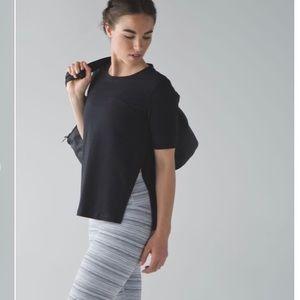 Lululemon dash to class short sleeves